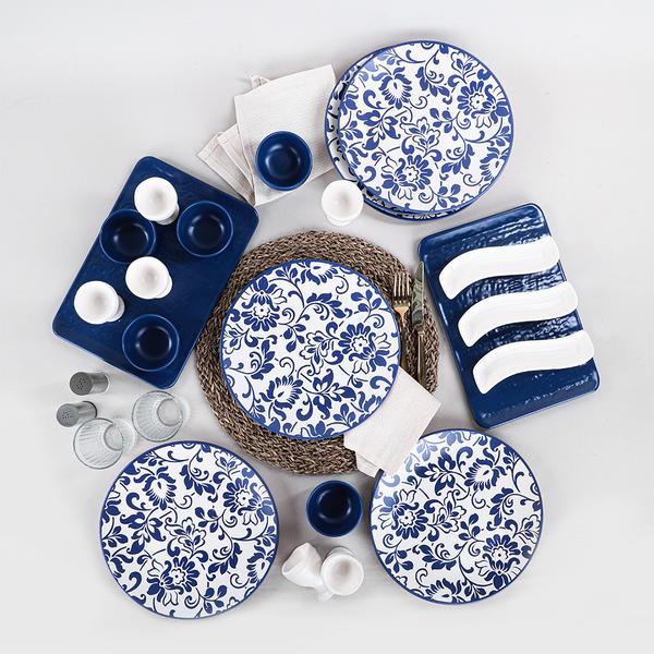 Anemon Kahvaltı Takımı 23 Parça 6 Kişilik | Keramika