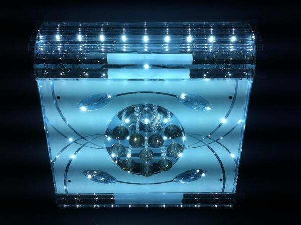 *LED'ler, MP3, USB, uzaktan kumanda Mel ile Dematex Çağdaş tavan ışıkları Lamba