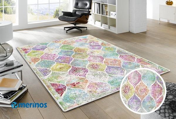 Merinos-Colorful-Eskitme-Damlacik-Hali-|-Renkli-|-5790-60-Multi