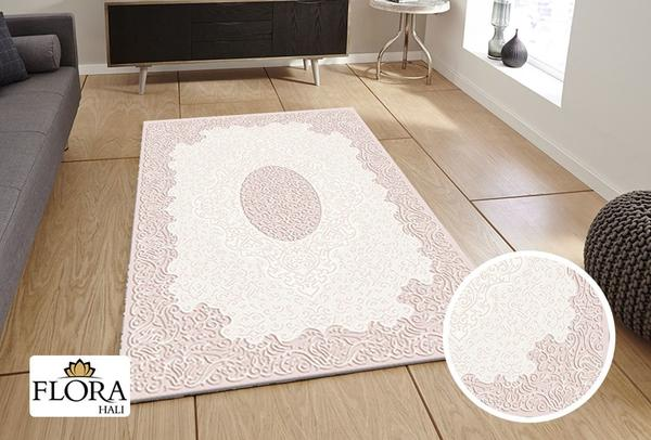 Flora Gökçe Collection Halı | Pembe | F-4582A-Pink