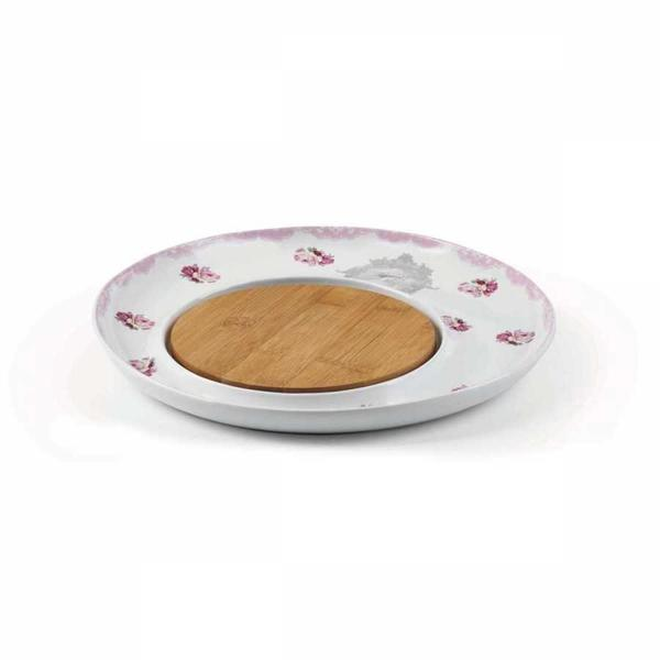Korkmaz Natura Pembe Peynir Tabağı