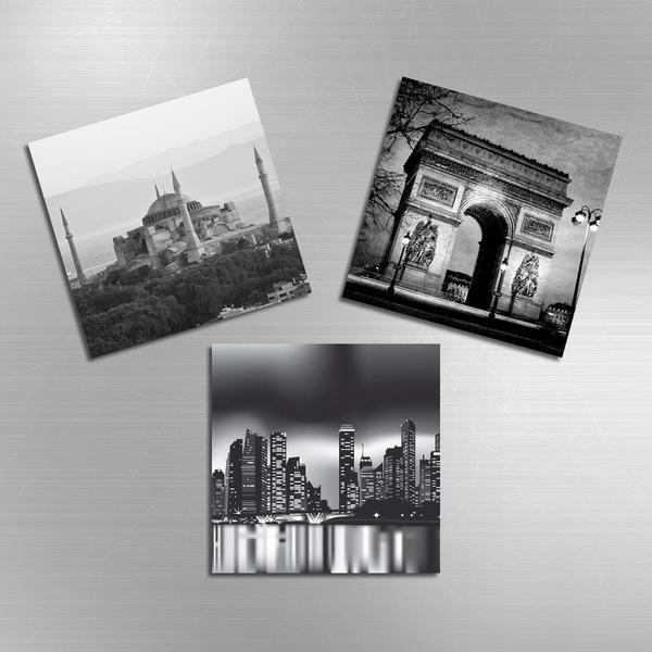 3'lü Magnet - Sehirler ve Tarihi Eserler Istanbul