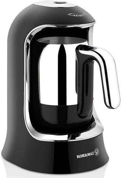 Korkmaz Kahvekolik Otomatik Kahve Makinesi | Siyah | A860-07