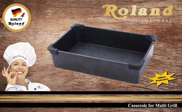 Roland Multigrill Tava | Granit | Siyah