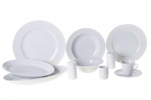 Kütahya Ege 80 Parça Porselen Yemek Takımı | 12 Kişilik | Ege-80