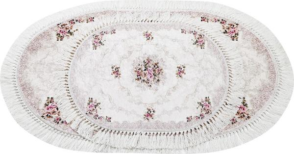 Dinarsu 2'li Banyo Paspası Seti | Krem | 1084-Cream