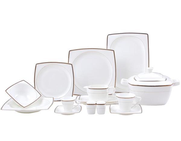 Schäfer TY-Shape 83 Parça Yemek Takımı | Beyaz | 33441