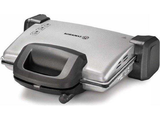 Korkmaz Kompakto Granit Maxi Tost Makinesi Gri/Siyah | A313-03