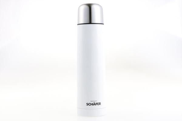 Schäfer Termos Flask   Paslanmaz Çelik   Beyaz   750ml