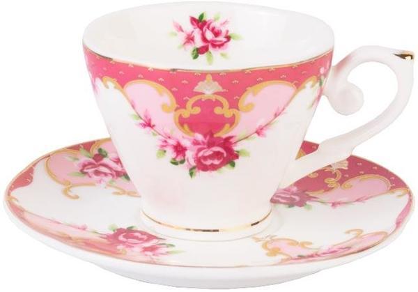 Taç 6'lı Büyük Boy Royal Linda Kahve Fincan Seti 12 Parça | TAC-1592