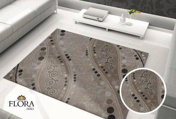 Flora Eleysa Nocturnal Halı | Krem | 1048A-Cream-White