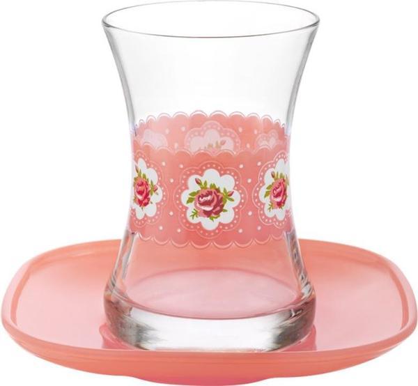 LAV 6'lı Mona Çay Bardağı Takımı 12 Parça | ZEN313-ZEN277-3
