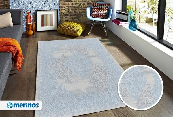 Merinos Style Modern Halı | Turkuaz | 30526-30-Turquoise