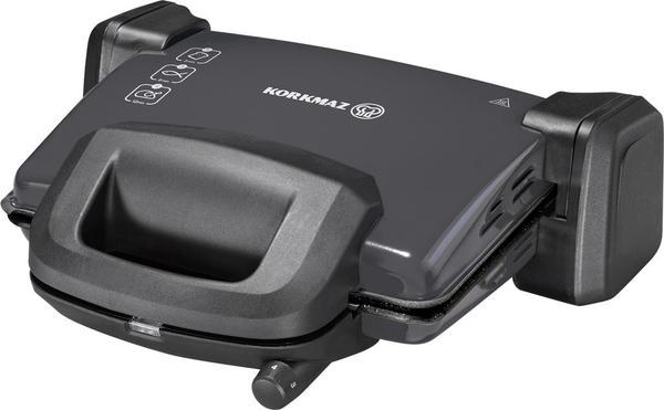 Korkmaz Kompakto Granit Maxi Tost Makinesi Siyah | A313-07
