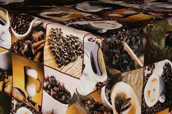 Öyküm Coffee Vinil Masa Örtüsü