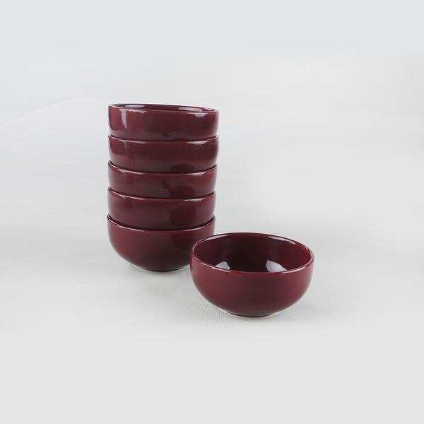 Mürdüm Bulut Çorba Kasesi 12 Cm 6 Adet | Keramika