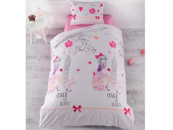 Beauty Tek Kişilik Uyku Seti Beyaz