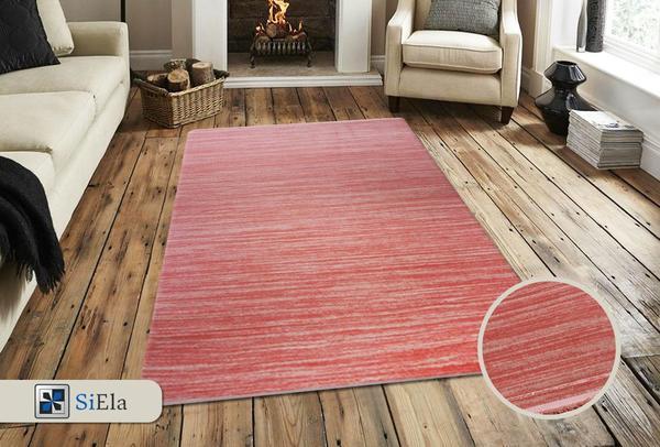Siela Belis Collection Halı | Pembe | S-7303-Pink