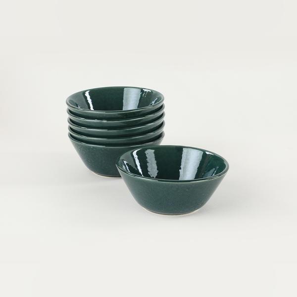 Luster Mavi Hitit Çorba Kasesi 14 Cm 6 Adet   Keramika