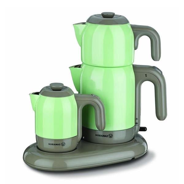 Korkmaz Mia Çay ve Kahve Makinesi - Yeşil
