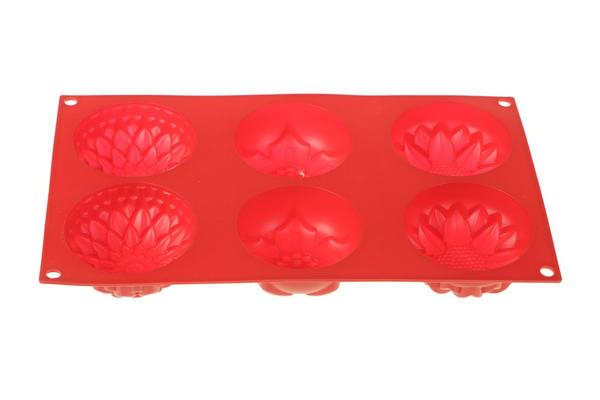 Paci Kek Pasta Kalıbı Flora Kırmızı
