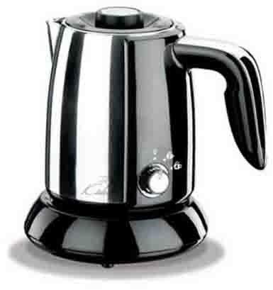 Korkmaz Tek Kahve Inox/Siyah Elektrikli Cezve Makinesi