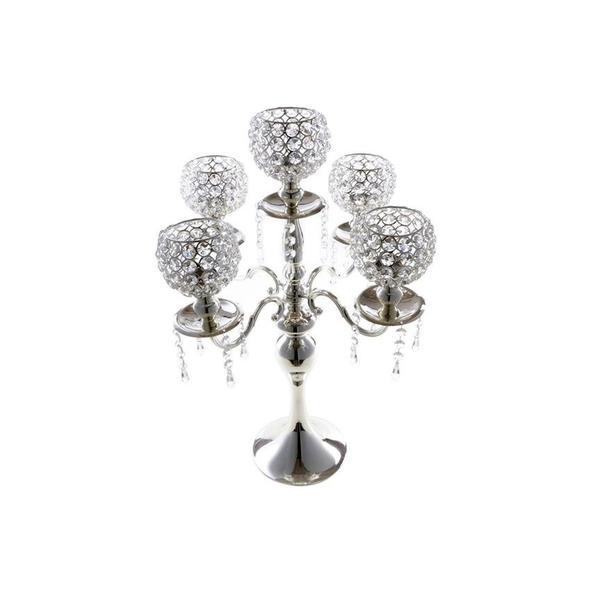 Çınar Modern Dekoratif Şamdan   Gümüş   4014000113