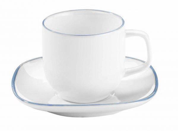 Korkmaz 6'lı Kappa Kahve Fincan Seti 12 Parça | A8666