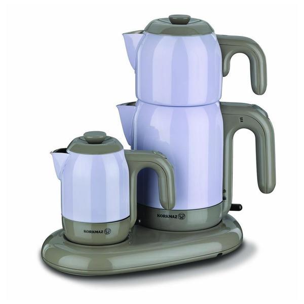 Korkmaz Mia Çay ve Kahve Makinesi - Mor