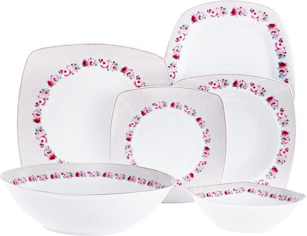 Duygu Bahar Porselen 26 Parça Yemek Takımı | 6 Kişilik
