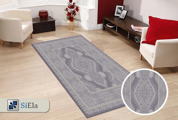 Siela Saraylı Collection Halı   Gri   S-1367-Grey
