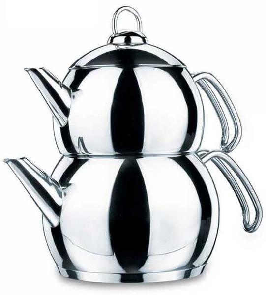 Korkmaz Tombik Çaydanlık Paslanmaz Çelik 3.1 Litre | İndüksiyon | A104
