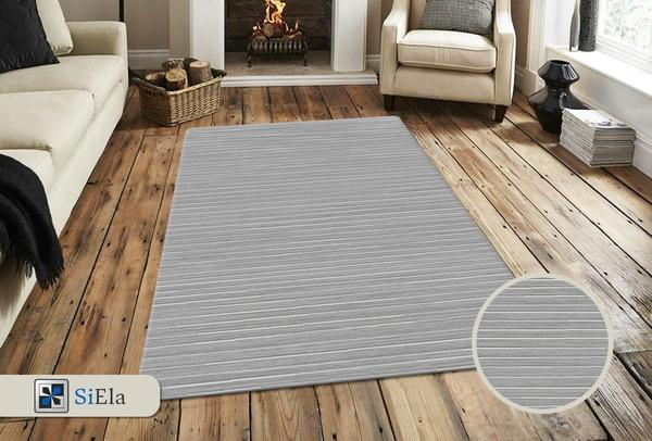 Siela Belis Collection Halı | Gri | S-7103-Grey