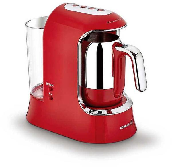 Korkmaz Kahvekolik Aqua Kahve Makinası | Kırmızı | A862
