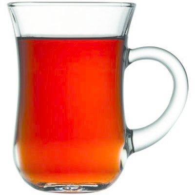 Paşabahçe Keyif  6 Adet Kulplu  Çay Bardağı Seti   55411