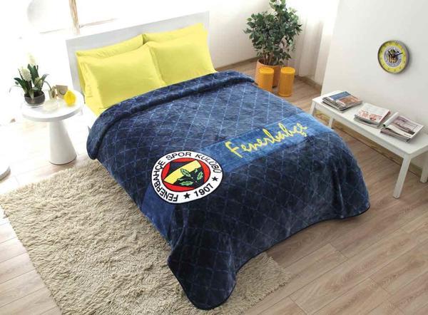 Taç Lisanslı Fenerbahçe Battaniye 220x240 cm