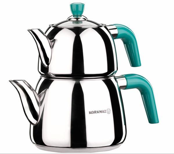 Korkmaz Azura Çaydanlık Paslanmaz Çelik 3.1 lt | A065