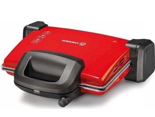 Korkmaz Kompakto Granit Maxi Tost Makinesi Kırmızı | A313-04