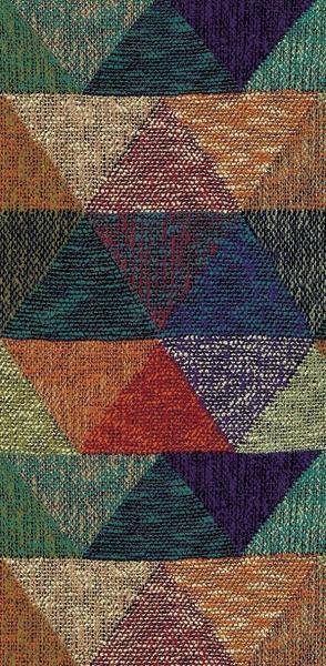 Merinos Halı Marokko Üçgen Desenli | Renkli | 22329-110
