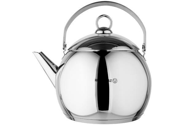 Korkmaz Tombik Paslanmaz Çelik Çaydanlık 3.5 Litre | A094