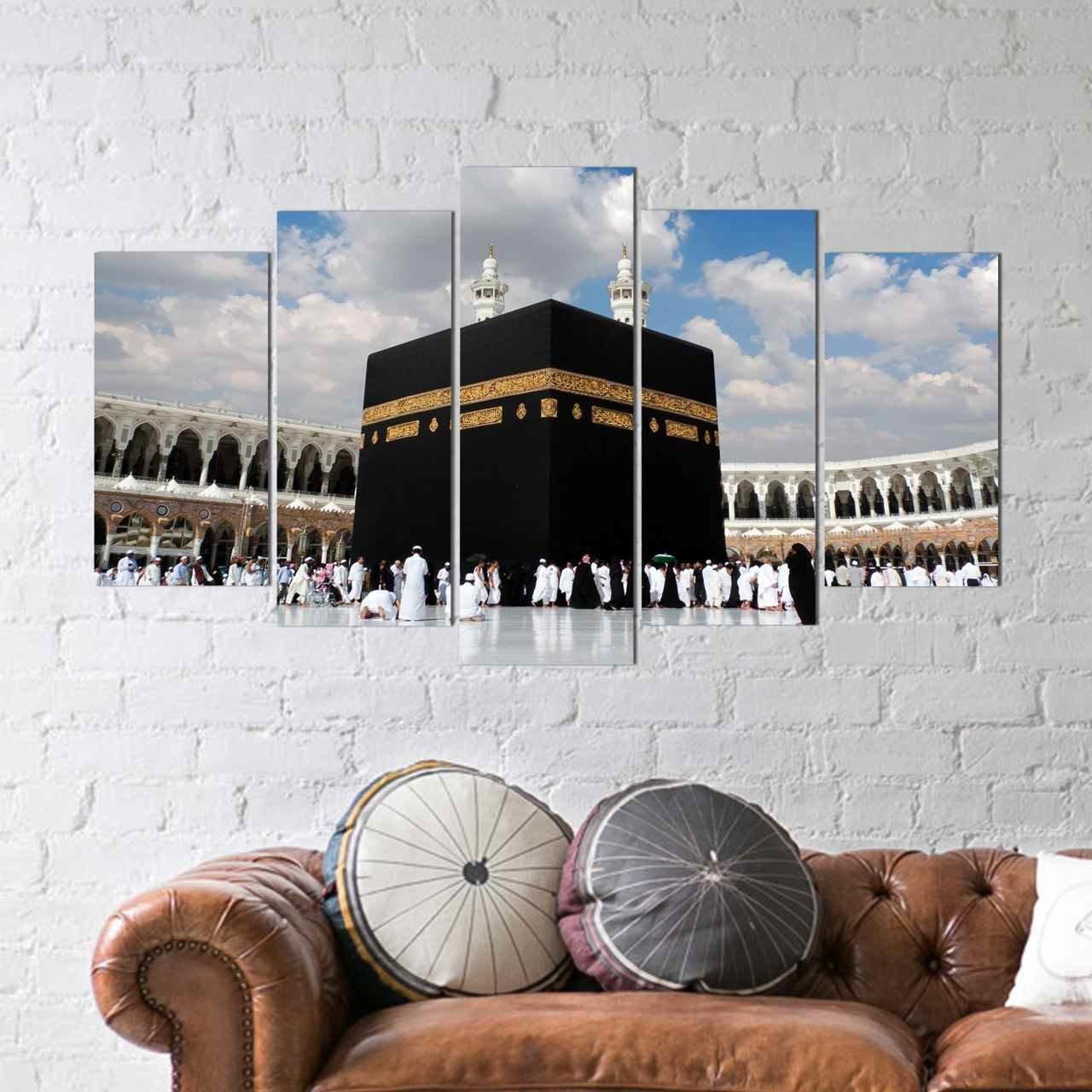 5 teiliges wandbild mdf kaabe. Black Bedroom Furniture Sets. Home Design Ideas