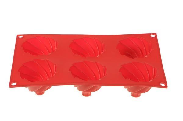 Paci Kek Pasta Kalıbı Kırmızı | PLA-600105-Rot