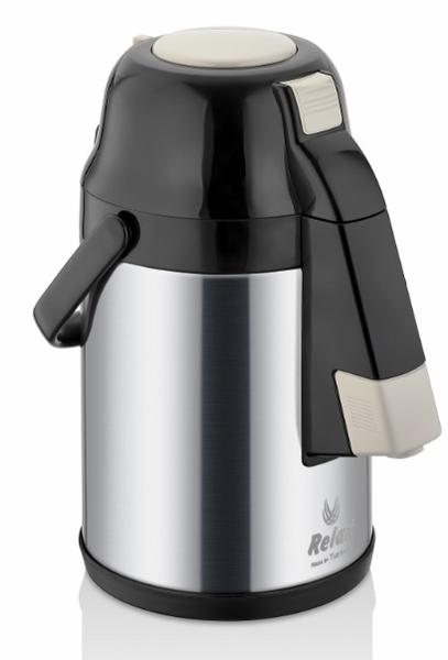 Remetta Caldo Delux 2.5 Litre Çelik Termos-Siyah