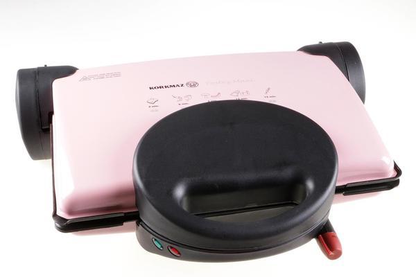 Korkmaz Tostez Maxi Tost Makinesi | Pembe | A308-02