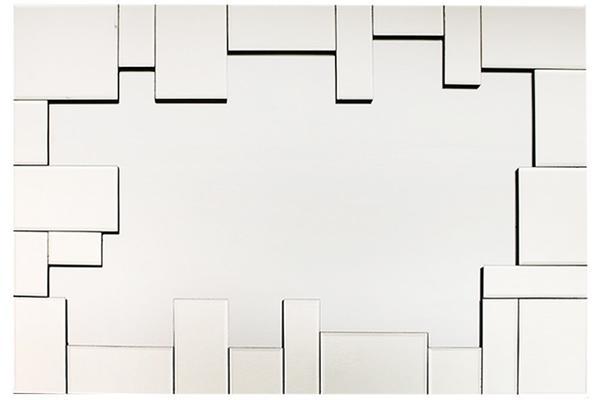 Lüks Dikdörtgen Dekoratif Ayna Yüksek Kaliteli Dört Köşe 60x80cm