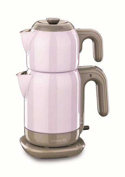 Korkmaz Demtez 2.7 lt. Elektrikli Çaydanlık - Mor