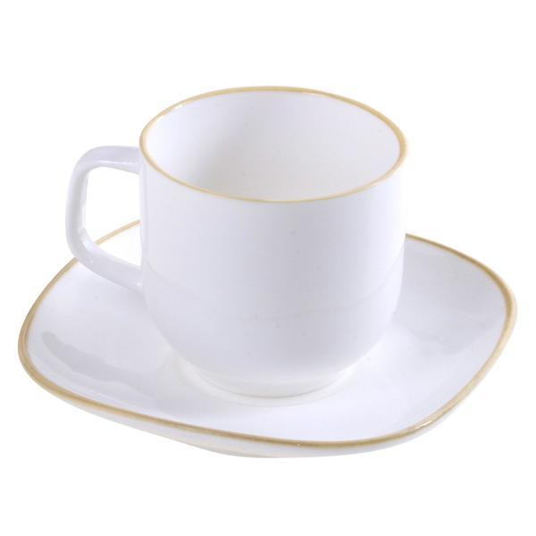Korkmaz 6'lı Kappa Kahve Fincan Seti 12 Parça | A8664