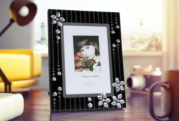 Çiçek Desenli Resim Çerçevesi | BR-5006-X