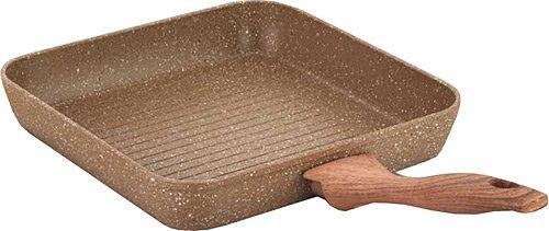 Korkmaz Browni 26 cm Granit Kare Grill Tava | A1669