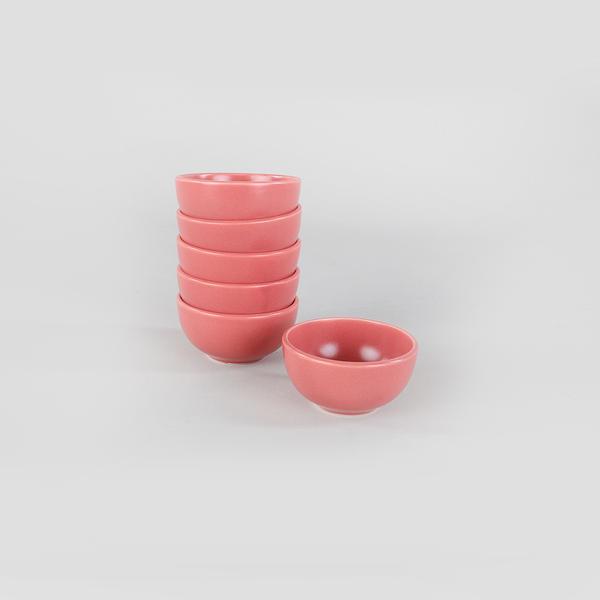 Mat Gül Kurusu Bulut Kase 8 Cm 6 Adet | Keramika